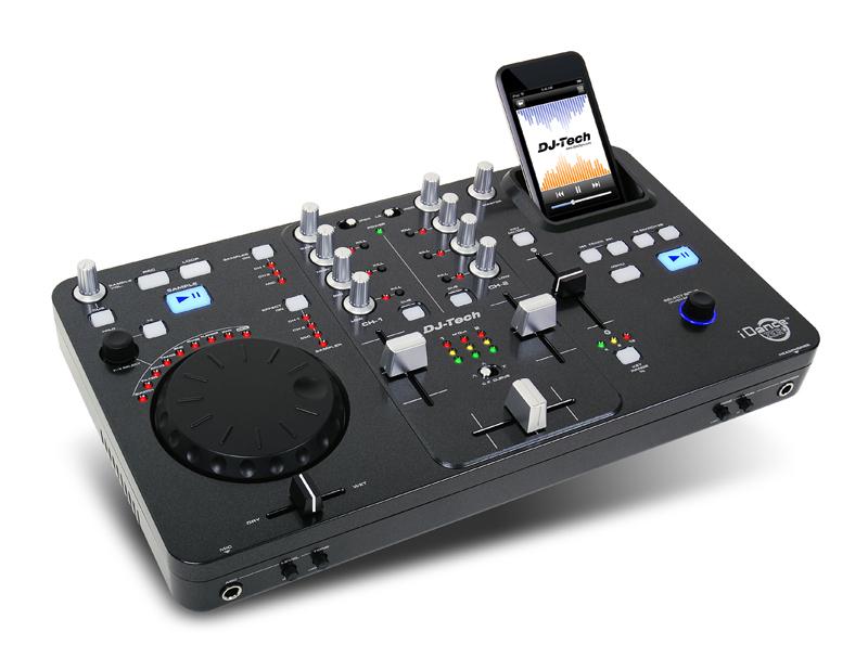 console de mixage usb i dance zero mixage ipod de dj tech. Black Bedroom Furniture Sets. Home Design Ideas