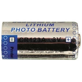 Pile Photo Lithium 3 V 1,2 Ah