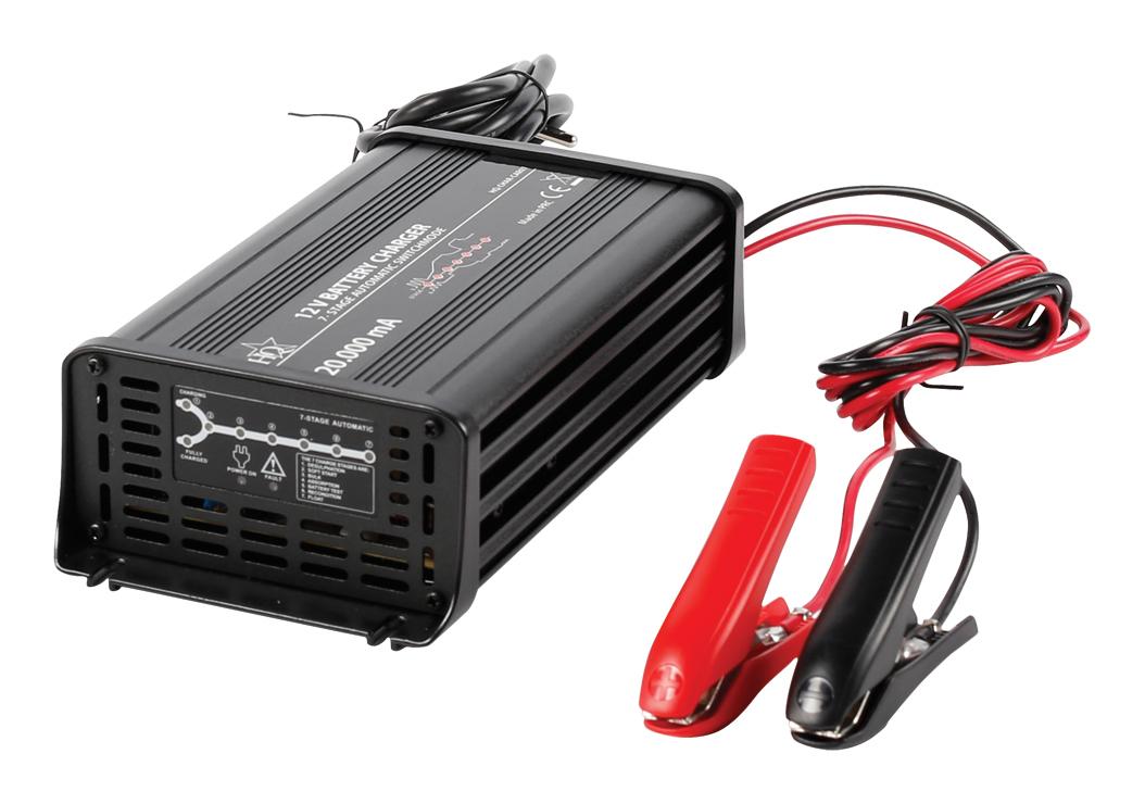 Chargeur Automatique De Batterie 230 12v 20 Amp Hq Aervi