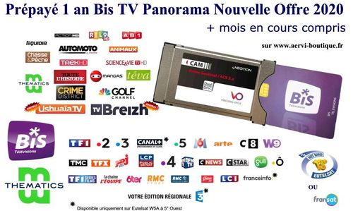 Module Viaccess Secure Neotion + Bis TV Panorama 1 an