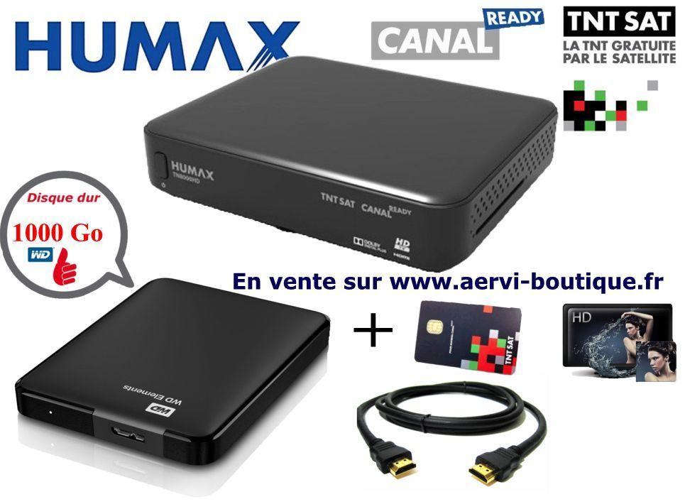 pack humax tn8000 hd avec disque dur externe 2 5 wd 1 t ra. Black Bedroom Furniture Sets. Home Design Ideas
