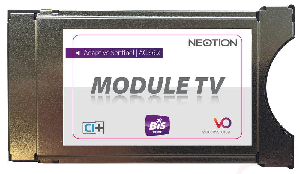 module ci pour carte tntsat Module CI Viaccess BIS READY décrypter 2 opérateurs dont Bis TV