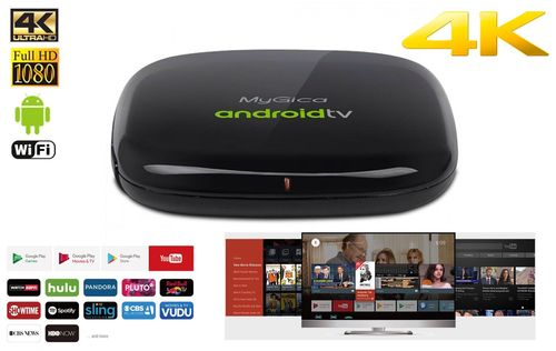 Box de streaming Android 4K ATV495Max 4K de MyGica